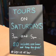 Check out the tours happening at Birds Fly South Brewery. Instagram photo by Saison_habit // yeahthatgreenville