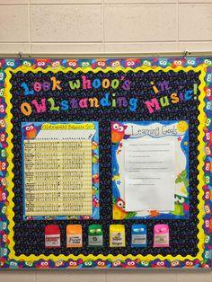"The Journey of an Elementary Music Teacher: Classroom Management ""noteworthy behavior"""