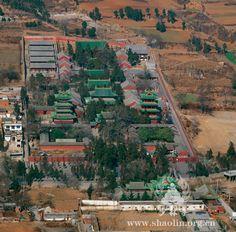 Shaolin Temple - Shaoshi Mountain, Henan, China