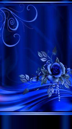 Blue Roses Wallpaper, Bling Wallpaper, Flower Phone Wallpaper, Butterfly Wallpaper, Cellphone Wallpaper, New Wallpaper, Wallpaper Backgrounds, Iphone Wallpaper, Blue Wallpapers