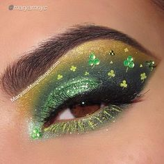 LOVE this St Patrick's Day makeup look by #maryamnyc using Motives cosmetics!
