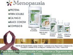 Quieres reducir los efectos de la #Menopausia? Aquí tienes tu opción #Natural y…