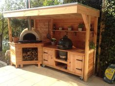 Outdoor-Küche Outdoor kitchen Related posts: 52 DIY Outdoor Kitchen Design Ideas That You Can Try 85 Best Outdoor Kitchen and Grill Ideas for Summer Backyard Barbeque 70 Trendy diy outdoor kitchen plans built ins 10 Outdoor Kitchen Ideas and Design Outdoor Cooking Area, Outdoor Kitchen Patio, Outdoor Kitchen Design, Outdoor Living, Outdoor Decor, Rustic Outdoor Kitchens, Outdoor Ideas, Big Green Egg Outdoor Kitchen, Outdoor Grill Area