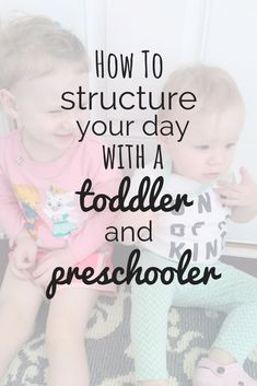 This stay at home mom schedule is perfect for moms with a toddler and preschooler. Inside, find out how to organize your daily routine with your two kids. Preschool Routine, Preschool At Home, Toddler Preschool, Toddler Activities, Toddler Learning, Learning Activities, Home Preschool Schedule, Daycare Schedule, Daily Schedule For Moms