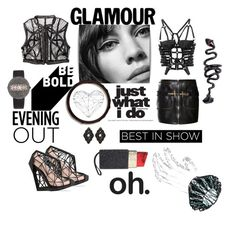 """""""Best in show!!!"""" by zabead ❤ liked on Polyvore featuring Iris van Herpen, Bally, Andreia Chaves, Lulu Guinness, Luxury Fashion, VOJD Studios, Christian Koban, Anna e Alex, glam and polyvoreeditorial"""