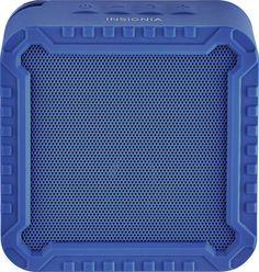 Insignia™ - Portable Bluetooth Speaker - Blue, NS-CSPBTF1-BL