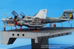 EA-6B Prowler VAQ-131 Lancers Last Cruise USS Constellation CV-64