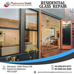 If you do decide to go with residential glass replacement are some tips to help you choose the ones that best fit your home. Welcome to Professional Glass Window Services and Repair Company that serves residential and commercial properties in Virginia and Maryland, Washington DC.   #residentialglassrepair #emergencyboardup #commercialglassrepair #BrokenShowerDoorRepair #patiodoorglassrepair #showerdoorrepair #windowglassrepair #glassrepair #glassreplacement #VA #DC #MD