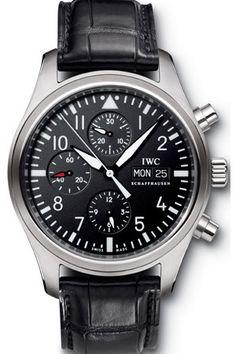 IWC FLIEGERUHR IW371701 PILOT'S CHRONOGRAPH AUTOMATIC MEN'S WATCH