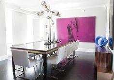 Achados, estilo e decoração por Gisele Gottardi Tons de areia, branco e cinza formam a paleta de um belíssimo apartamento em Nova York, no badalado bairro