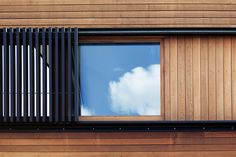 Glamuzina Paterson Architects Ltd - Bond Street window House Shutters, Bond Street, Residential Architecture, Architecture Details, Exterior Design, New Zealand, Backyard, Windows, Wood