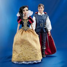 Disney Fairytale Designer Collection Snow White & The Prince dolls