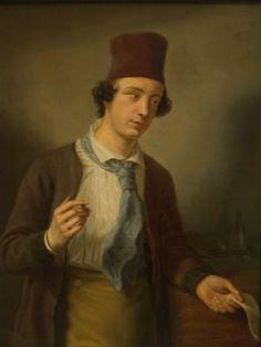 Porträt Hermann Wilhelm Soltau,  von Günther Gensler, Studie zu dem Gruppenporträt von 1840, entstanden in den Zeitraum von 1838 bis 1840, Museum für Hamburgische Geschichte