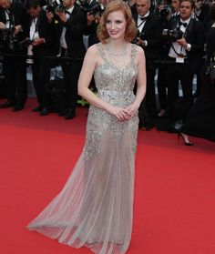 jessica Chastain #cannes #festivaldecannes #cannes2016 #star #people #fashion #redcarpet #jessicachastain
