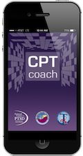 iPhone CPT Coach Mobile screen splash page  Cognitive Processing Therapy (CPT) is an evidence-based psychotherapy for PTSD that helps you decrease distress about your trauma. CPT has been shown to be one of the most effective treatments for PTSD. CPT Coach is a mobile application (mobile app) for patients to use with their therapists during face-to-face CPT for PTSD.