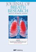 #9. Journal of Breath Research (ISSN: 1752-7155). Impact factor: 4.177