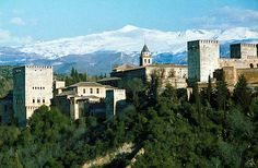 """I want you to see the Alhambra - it's the nearest thing to your Blue Castle of your dreams I can think of."""