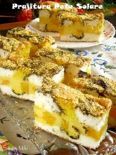 Romanian Desserts, Cake Cookies, French Toast, Sweet Treats, Good Food, Cheese, Breakfast, Tarts, Sweets