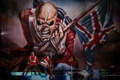 #Iron_Maiden #Eddie #Bruce_Dickinson #Trooper
