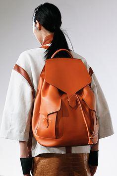 Backpacks at Hermès - Spring 2013 RTW