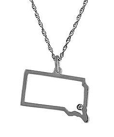 Maya Brenner South Dakota Pendant Necklace
