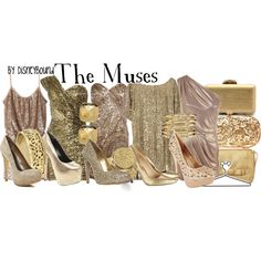 "oh my gosh. I need people to do this with me! - ""The Muses"" by lalakay on Polyvore"