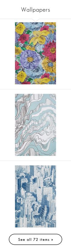 """""""Wallpapers"""" by kellylynne68 ❤ liked on Polyvore featuring home, home decor, wallpaper, grey wallpaper, gray wallpaper, grey home decor, anthropologie wallpaper, anthropologie, anthropologie home decor and star wallpaper"""