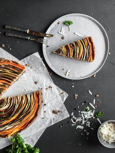 glutenfree vegetable tart! Glutenfreie Tarte in Spiraloptik, eifrei, sojafrei, laktosefrei und zuckerfrei | freiknuspern - Rezepte für Allergiker!