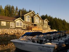 Shearwater Lodge beautiful Oceanfront Resort in the Great Bear Rainforest. Canada Trip, Canada Travel, Places To Visit, Bear, Mansions, House Styles, Beautiful, Home, Manor Houses