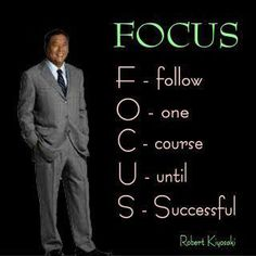 FOCUS one of the most important