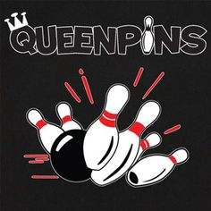 BowlingShirt.com - Queenpins with Pinsplash A on Bowling Shirts