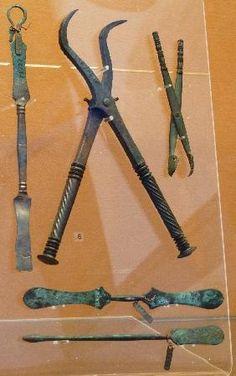 Dental Instruments found at Pompeii www.edellstahlins...