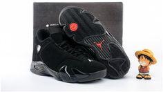 Air Jordan 14 Retro Mens Basketball Shoes black0