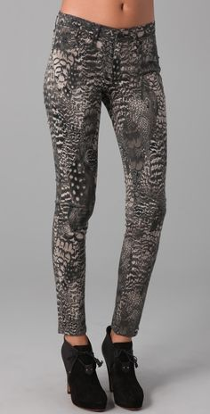 Rag & Bone/JEAN Printed Legging Jeans want bad