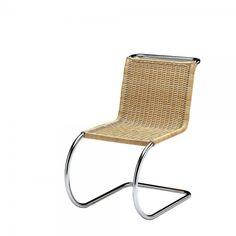 Silla clásica moderna. S533 silla Cantilever. Mies Van der Rohe