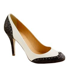 Black and White Spectator Pumps for Beautiful shoes click here - http://www.tuccipolo.com