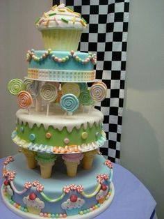 LITTLE GIRL BIRTHDAY CAKES IMAGES | Perfect Little girls birthday cake by Sheena Evans