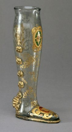 Humorous Goblet: Boot, Innsbruck (Court Glassworks), last quarter of the 16th…