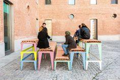 Enorme Studio, Schlickeysen modular furniture, 2017