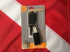 Strikeforce firestarter emergency  survival flint sparker20-900-0013-01 UST camp #UST Flint Striker, Fire Tornado, Disaster Kits, Fire Starters, Can Opener, Survival, Camping, Shelter, Ebay
