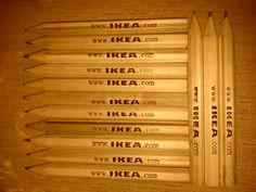 Ecco una piccola Foto delle Matite di IKEA in versione SEPPIA
