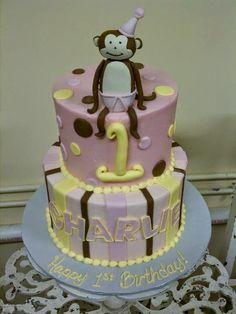 Monkey Cake - www.KellysCakery.com