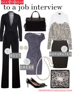 Reader question: What do I wear to a job interview? [http://www.franticbutfabulous.com/what-do-i-wear-to-a-job-interview/]