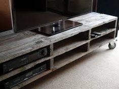 pallet entertainment unit - Google Search