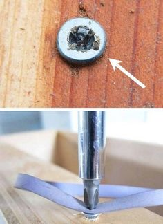 How to Remove Stripped Screws