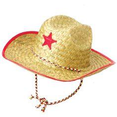 3444e2fd4892e Child s Cowboy Hat Cowgirl Party Supplies