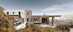 3D Render Photo 7 of ROCKSPLIT house modern home