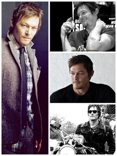 Norman Reedus .. the coolest cat ever