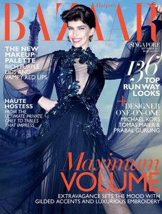 Harper's Bazaar Singapore September 2012 : Kristina Salinovic