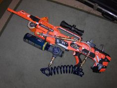 Semi-Automatic Nerf Gun Mod